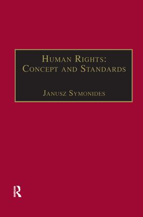 Human Rights: Concept and Standards book cover