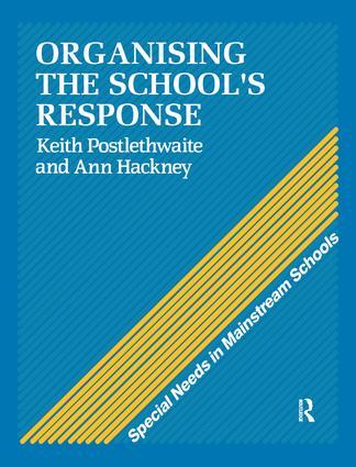 Organising a School's Response: 1st Edition (Hardback) book cover