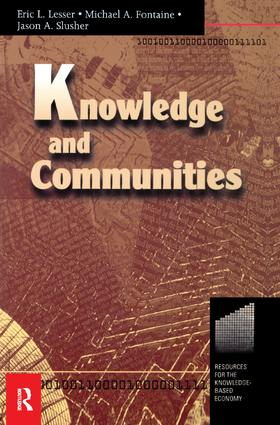 Knowledge and Communities: 1st Edition (Hardback) book cover