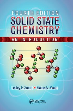 Solid State Chemistry: An Introduction, Fourth Edition, 4th Edition (Hardback) book cover