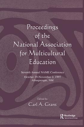 Proceedings of the National Association for Multicultural Education: Seventh Annual Name Conference, 1st Edition (Hardback) book cover