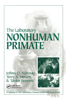 The Laboratory Nonhuman Primate: 1st Edition (Hardback) book cover