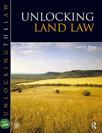 Unlocking Land Law: 5th Edition (Hardback) book cover