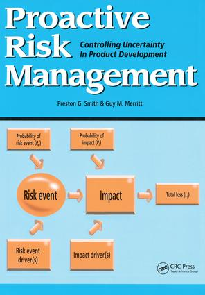Proactive Risk Management: Controlling Uncertainty in Product Development, 1st Edition (Paperback) book cover