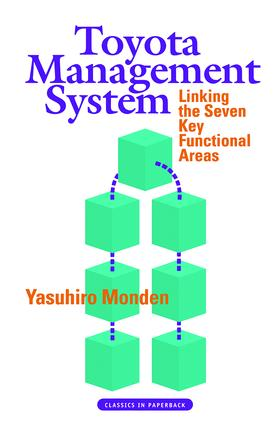 Toyota Management System: Linking the Seven Key Functional Areas, 1st Edition (Paperback) book cover