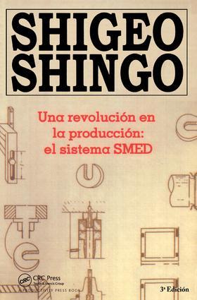 Una revolucion en la produccion: el sistema SMED, 3a Edicion, 3rd Edition (Paperback) book cover