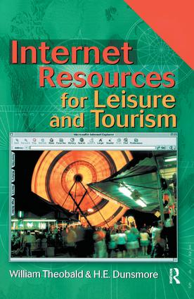 Internet Resources for Leisure and Tourism: 1st Edition (Hardback) book cover