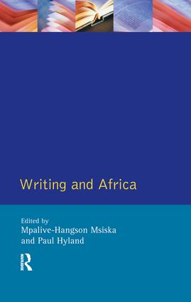 Writing and Africa: 1st Edition (Hardback) book cover
