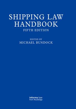 Shipping Law Handbook: 5th Edition (Hardback) book cover