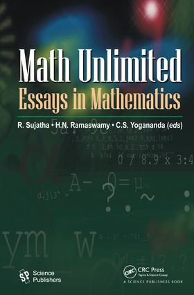 Math Unlimited: Essays in Mathematics, 1st Edition (Hardback) book cover