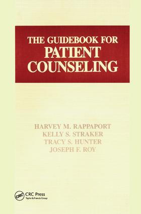 The Guidebook for Patient Counseling: 1st Edition (Paperback) book cover