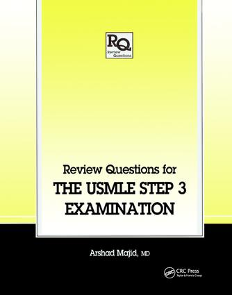 Review Questions for the USMLE, Step 3 Examination: 1st Edition (Paperback) book cover