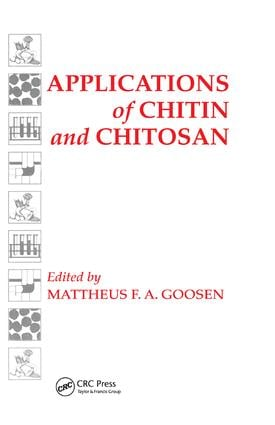 Applications of Chitan and Chitosan: 1st Edition (Paperback) book cover
