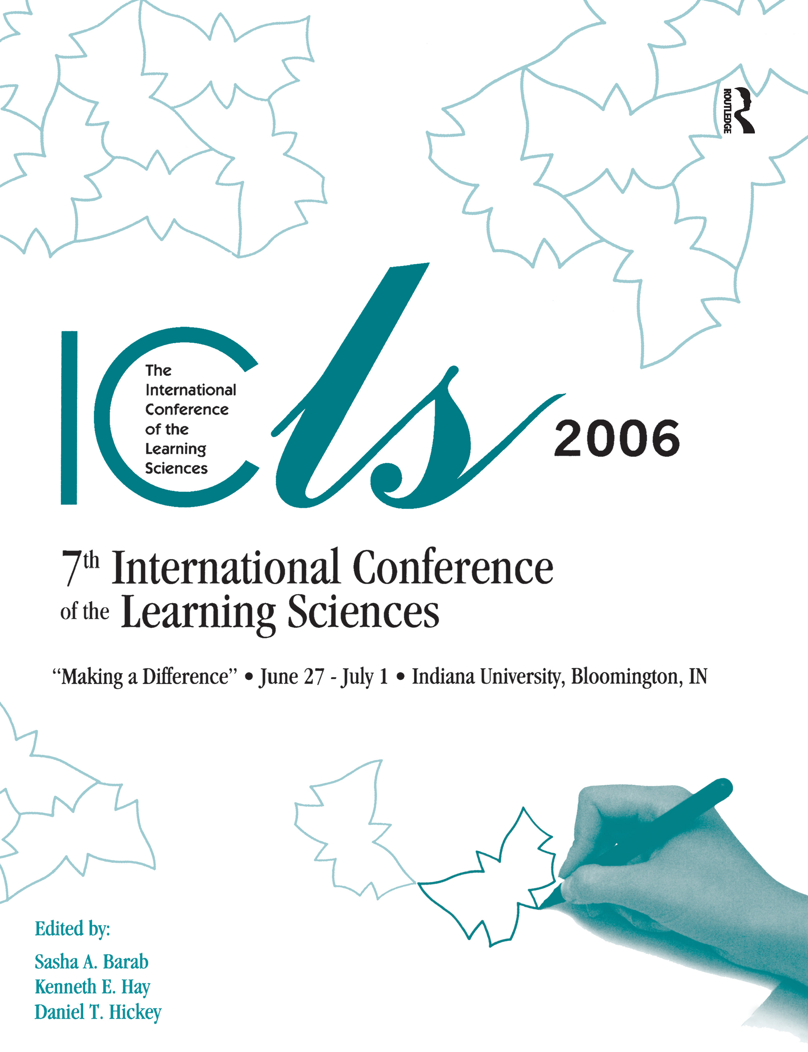 Making a Difference: Volume I and II: The Proceedings of the Seventh International Conference of the Learning Sciences (ICLS), 1st Edition (Paperback) book cover