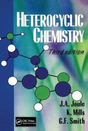 Heterocyclic Chemistry, 3rd Edition: 3rd Edition (Paperback) book cover