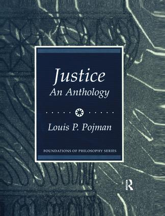 Justice: An Anthology: 1st Edition (Paperback) book cover