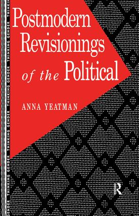 Postmodern Revisionings of the Political: 1st Edition (Hardback) book cover