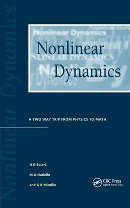 Nonlinear Dynamics: A Two-Way Trip from Physics to Math, 1st Edition (Paperback) book cover