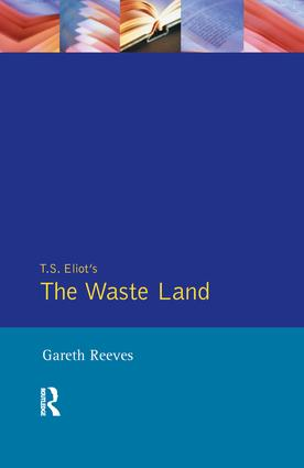 T. S. Elliot's The Waste Land: 1st Edition (Paperback) book cover