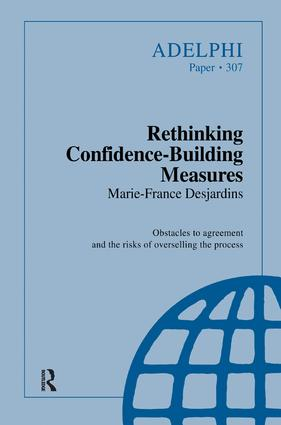 Rethinking Confidence-Building Measures: 1st Edition (Hardback) book cover