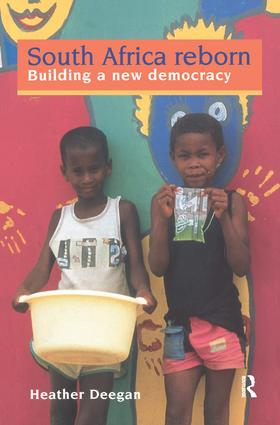South Africa Reborn: Building A New Democracy: 1st Edition (Hardback) book cover