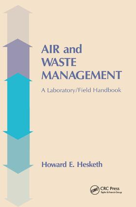 Air and Waste Management: A Laboratory and Field Handbook, 1st Edition (Paperback) book cover