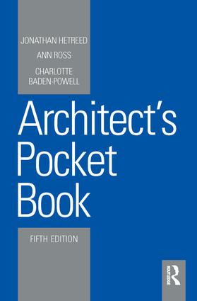 Architect's Pocket Book: 5th Edition (Hardback) book cover