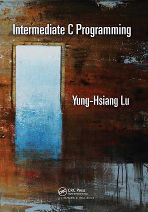 Intermediate C Programming: 1st Edition (Hardback) book cover