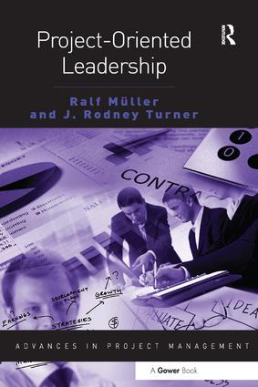 Project-Oriented Leadership: 1st Edition (Hardback) book cover