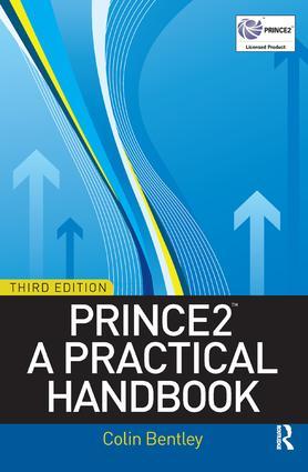 PRINCE2: A Practical Handbook: 3rd Edition (Hardback) book cover