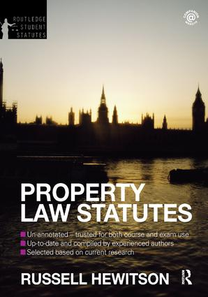 LAW OF PROPERTY ACT 1922