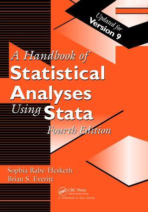 Handbook of Statistical Analyses Using Stata - CRC Press Book