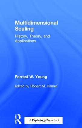 Multidimensional Scaling: History, Theory, and Applications - CRC