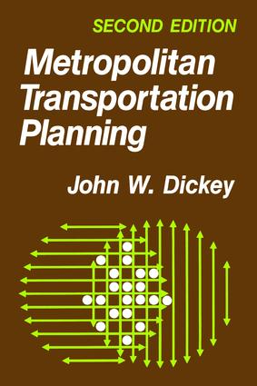 Metropolitan Transportation Planning: 2nd Edition (Paperback) book cover
