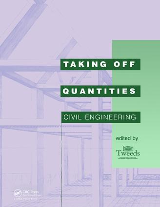 Taking Off Quantities: Civil Engineering (Paperback) book cover