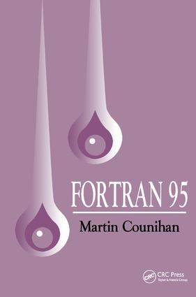 Fortran 95: 2nd Edition (Paperback) book cover