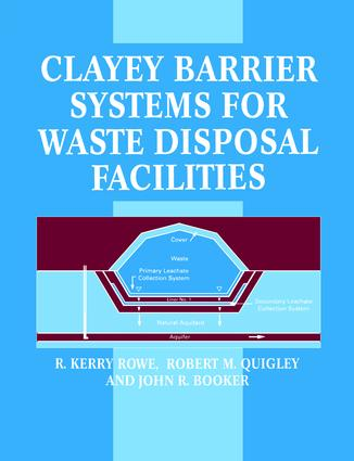 Clayey Barrier Systems for Waste Disposal Facilities: 1st Edition (Paperback) book cover