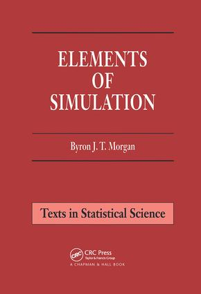 Elements of Simulation: 1st Edition (Hardback) book cover