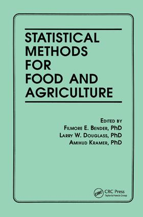 Statistical Methods for Food and Agriculture: 1st Edition (Hardback) book cover