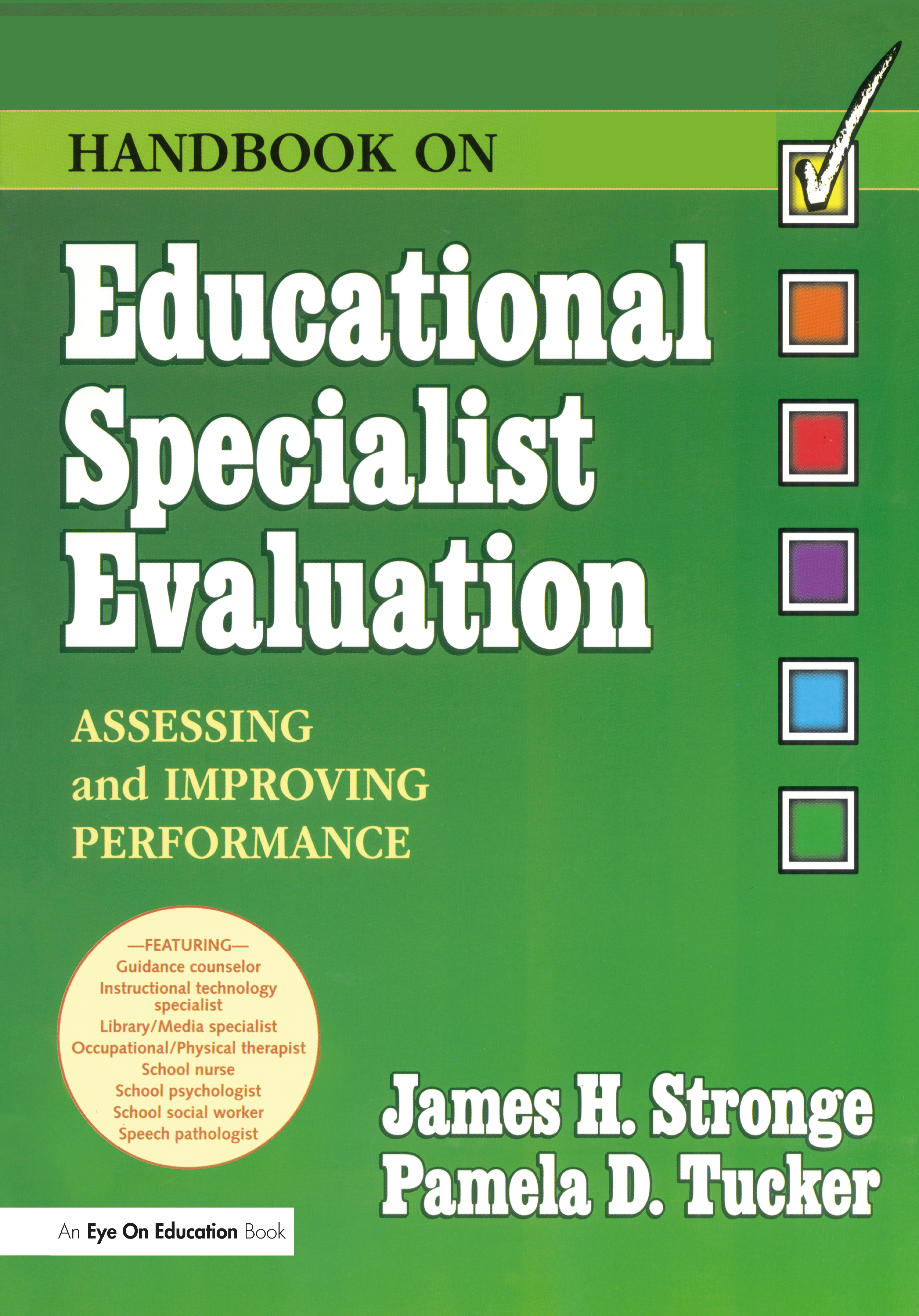 Handbook on Educational Specialist Evaluation: 1st Edition (Hardback) book cover