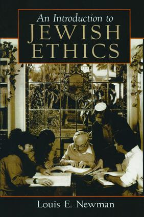 Introduction to Jewish Ethics: 1st Edition (Hardback) book cover