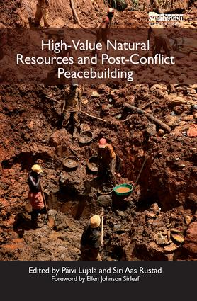High-Value Natural Resources and Post-Conflict Peacebuilding: 1st Edition (Hardback) book cover