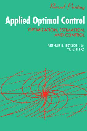 Applied Optimal Control: Optimization, Estimation and Control, 1st Edition (Paperback) book cover