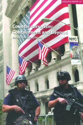 Counter-terrorism: Containment and Beyond, 1st Edition (Paperback) book cover