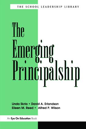 Emerging Principalship, The: 1st Edition (Hardback) book cover