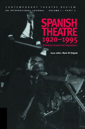 Spanish Theatre 1920-1995: Strategies in Protest and Imagination (1) book cover