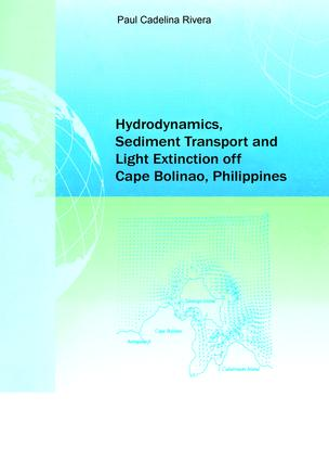 Hydrodynamics, Sediment Transport and Light Extinction Off Cape Bolinao, Philippines: 1st Edition (Paperback) book cover