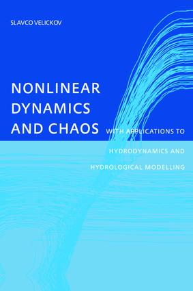 Nonlinear Dynamics and Chaos with Applications to Hydrodynamics and Hydrological Modelling: 1st Edition (Paperback) book cover