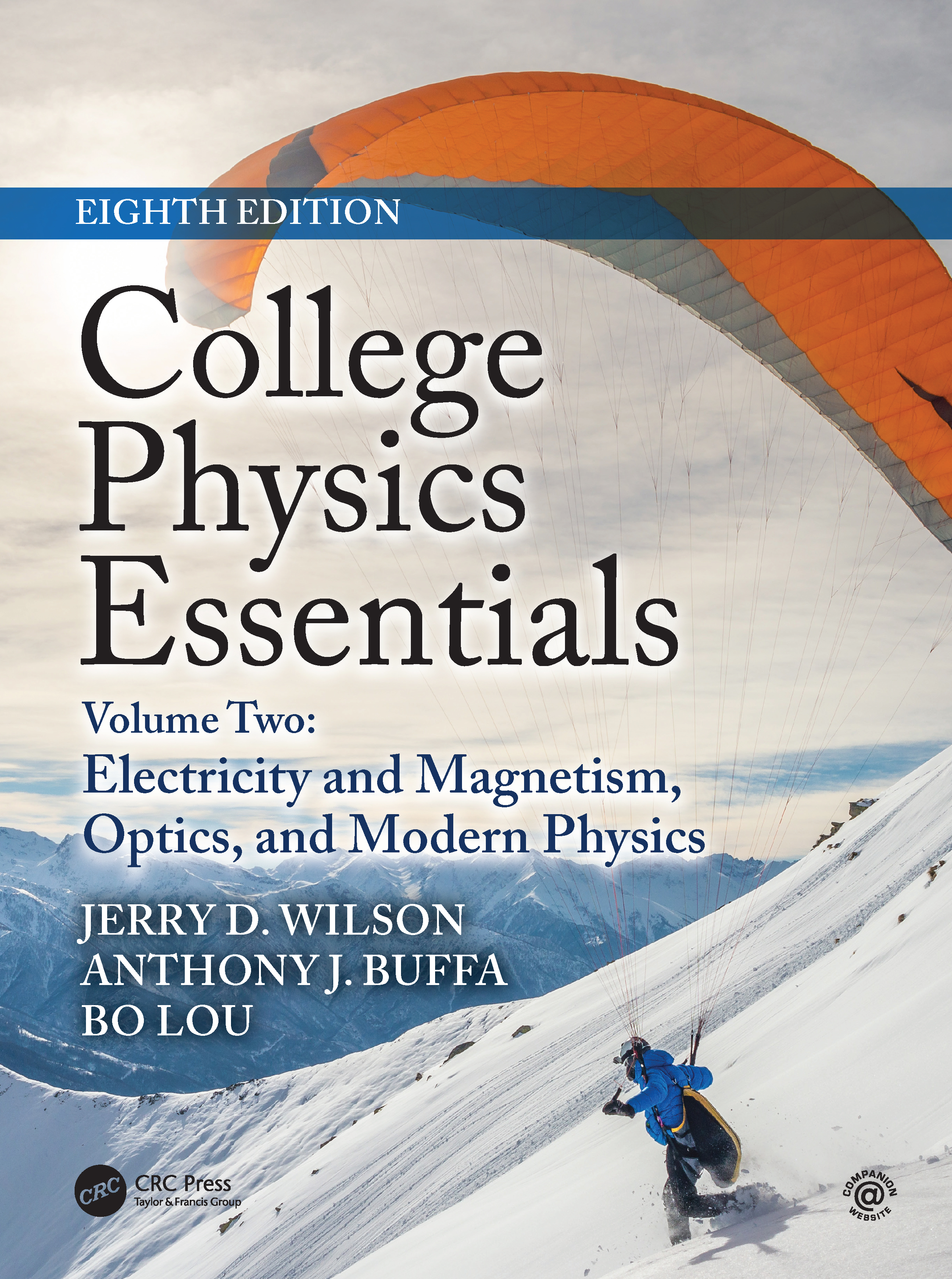 College Physics Essentials, Eighth Edition: Electricity and Magnetism, Optics, Modern Physics (Volume Two) book cover