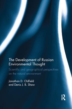 The Development of Russian Environmental Thought: Scientific and Geographical Perspectives on the Natural Environment book cover